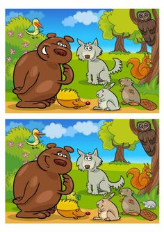 Dyslexia Activities, Educational Activities For Kids, Montessori Activities, Infant Activities, Spot The Difference Kids, Find The Difference Pictures, Games 4 Kids, English Moral Stories, Fun Worksheets For Kids