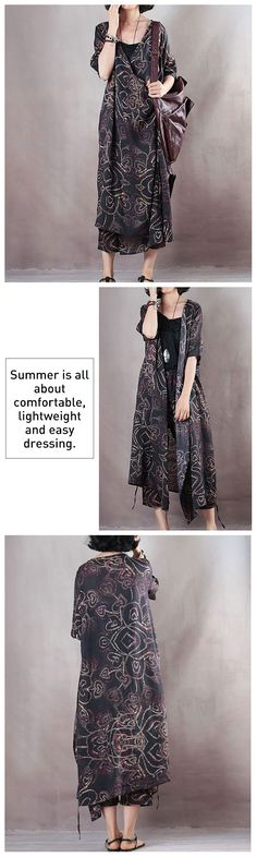 Summer Short Sleeve Casual Black Pockets Dress