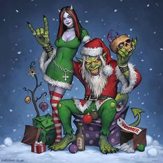 For the delightful folks at the mighty Metal Hammer magazine. Also a good opportunity to casually state that my online shop is now fully stocked for the festive season. BUY ALL MY STUFFS HERE - mat...