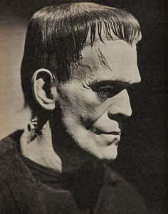 'Frankenstein': James Whale's Macabre Take on One of the Most Sympathetic Characters Ever Created in the World of English Letters Boris Karloff Frankenstein, Frankenstein 1931, Frankenstein Tattoo, Horror Monsters, Scary Monsters, Famous Monsters, Space Ghost, Arte Horror, Horror Art