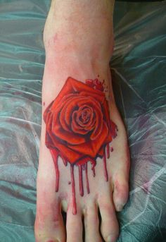 55 Beautiful Foot Tattoo Designs For Girls | http://buzz16.com/beautiful-foot-tattoo-designs-for-girls/