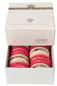 LaDurée Macarons //  Monaco Wedding box