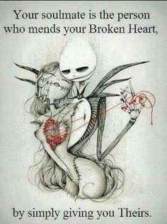 Soulmates mends broken hearts