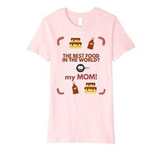 Food Net - The Best Food in the World is my MOM T-shirt Food Net Shirts, http://www.amazon.com/dp/B071XL1GG2/ref=cm_sw_r_pi_dp_x_Fntszb6TPCZ19