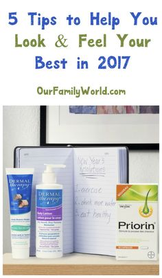 Celebrate the new year with a new health & beauty routine! Check out 5 easy tips to help you look and feel great in 2017! #ad