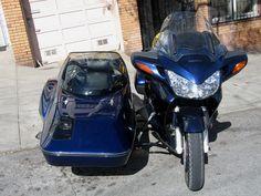 Honda ST1300 with Hannigan Astro Sport sidecar