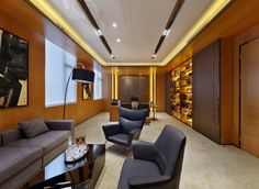 midea real estate forest city times office show flat 02 by cc design co