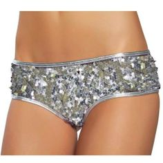 6/10 - silver sequined underwear and socks under bridesmaid dress, wedding, walk down aisle as bridesmaid