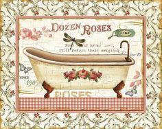 bikari: Banyo Dekupaj Desenleri