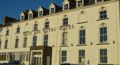 Belle Vue Royal Hotel Aberystwyth Boasting stunning views over Cardigan Bay, this Georgian period hotel dates back to 1824 and is situated on Aberyswyth's Victorian promenade, just a short walk from the town centre, train station and coastal path.