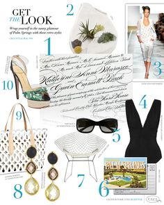 Get the Look CeciStyle V84: Palm Springs
