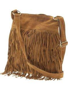 70s vintage fringe purse