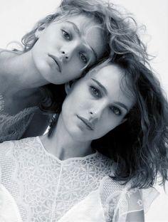 Lily Rose Depp and Natalie Portman