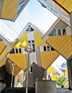 Kubuswohnungen von Piet Blom in Rotterdam
