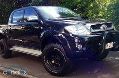 New & Used cars for sale in Australia Toyota Tacoma 4x4, Toyota Hilux, Toyota Trucks, Pickup Trucks, My Dream Car, Dream Cars, Best Off Road Vehicles, Trophy Truck, Van Car