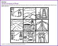 Jacob's Journey of Trust (Game)- Kids Korner - BibleWise
