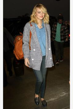 Celebrities Airport Style - Celebs Airport Fashion Photos - ELLE