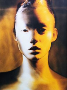 audrey marnay by paolo roversi - thinking something abstract with this type of lighting