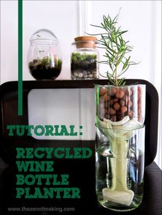 You will love these upcycled wine bottle craft ideas, http://www.coolcrafts.com/upcycled-wine-bottle-crafts/