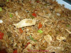 Les plats cuisinés de Esther B: Riz chinois (au four)