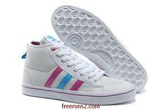 d9cf10f24c9 Wholesale Cheap Adidas Honey Stripes Mid W White Blue Pink