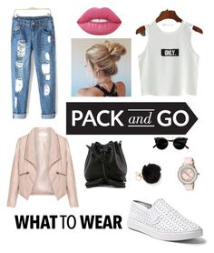 """""""Pack & Go to Tokyo"""" by andreinae ❤ liked on Polyvore featuring Zizzi, Steve Madden, Rebecca Minkoff, Ted Baker, Lime Crime, tokyo and Packandgo"""