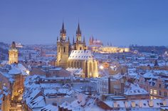 Learn about travel to Prague during the winter season, including what to expect out of the weather, how to pack, and what seasonal events are happening.