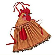 Rooster apron.