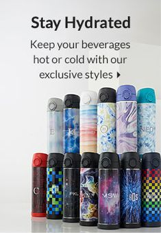 Stay Hydrated - Keep your beverages hot or cold with our exclusive styles. Shop Now Best Lunch Bags, Pottery Barn Teen, Stay Hydrated, Food Containers, Food Storage, Beverages, Water Bottle, Cold, Shop