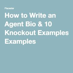 Check out our list of the top 25 real estate bio examples from top ...