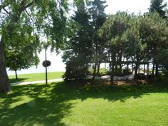 Lakeview Park, from Curator Melissa's office window