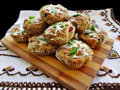 Briose aperitiv, cu carne tocata si legume - imagine 1 mare Baked Potato, Muffin, Appetizers, Meat, Chicken, Baking, Breakfast, Ethnic Recipes, Finger Food