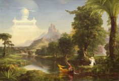 Thomas Cole - The Ages of Life - Youth, 1842
