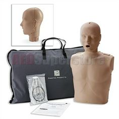 f46a72132f25 Prestan Professional Adult CPR-AED Training Manikin w  CPR Monitor and Kit  Cpr Training