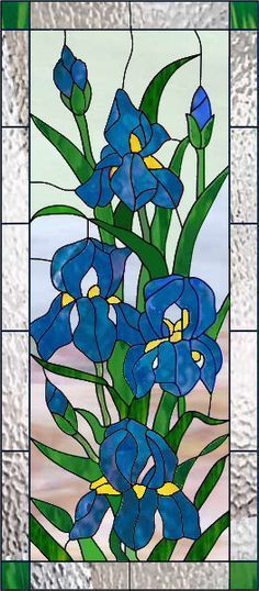 Stained glass window panel #StainedGlass