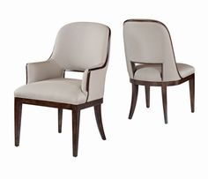 """THOMAS & GRAY - Churchill Chair  10721-841/842  10721-841: W: 21.5"""" D: 27"""" H: 38""""  10721-842: W: 24.75"""" D: 27"""" H: 38""""  The sculpted shape of this fully upholstered chair provides exceptional seating comfort Weight: 10721-841: 50lbs              10721-842: 60lbs Finishes: 107 Bramble               10712 Gray Earth (+10%) COM/COL: 10721-841: 4 yds / 68 sq ft                  10721-842: 4.5 yds / 76 sq ft"""