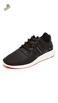 Y-3 Women's Y-3 Yohji Run Sneakers, Black/White, 7.5 UK - Adidas sneakers for women (*Amazon Partner-Link)