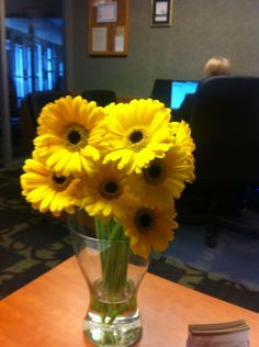 Jennifer from our sales office just received this fabulous bunch of #sunflowers - we just need a bit more of the sun outside!