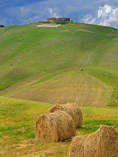 Asciano, Siena, Italy Tuscany