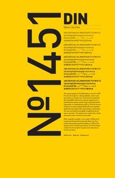 Sans Serif Typeface Study: DIN on Adweek Talent Gallery