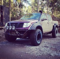 Nissan frontier wide body flares