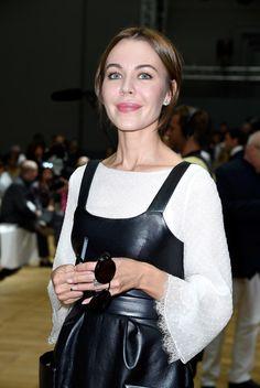 Ulyana Sergeenko Photos: Chloe : Front Row - Paris Fashion Week Womenswear Spring/Summer 2015
