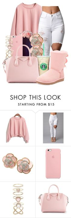 """"" by honey-cocaine1972 ❤ liked on Polyvore featuring Roberto Coin, Accessorize, Givenchy, UGG Australia, women's clothing, women, female, woman, misses and juniors"