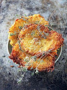 Galettes de pommes de terre croustillantes