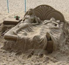 Sandskulpturen #Sand #kreativ | www.Sandkastenparadies.de