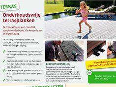 Horta Dendauw Kuurne: Horta verkoopt en plaatst terrassen !!!