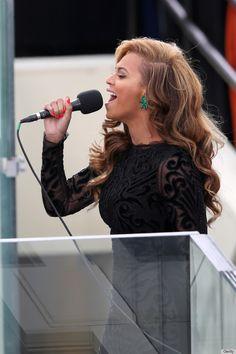 Beyonce at President Obama's 2013 Inauguration #beauty #nails