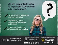 @Escolmeeduco ¿Sabes lo importante que es evaluar a tus profes?