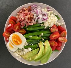 Green Bean Cobb Salad | TUCK & TATE
