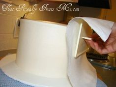 how to get buttercream frosting as smooth as fondant - Google Search
